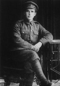 דוד בן גוריון במדי הגדודים העבריים - 1918