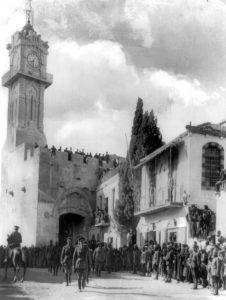 כניסת אלנבי לירושלים דרך שער יפו - 11-דצמבר-1917